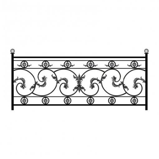 Эскизы кованых заборов и оград