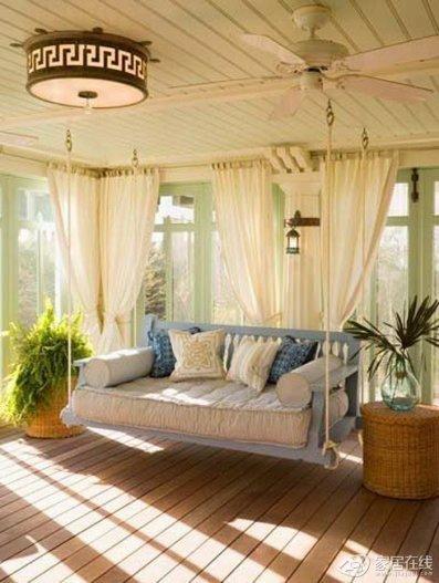 Подвесной диван-качели
