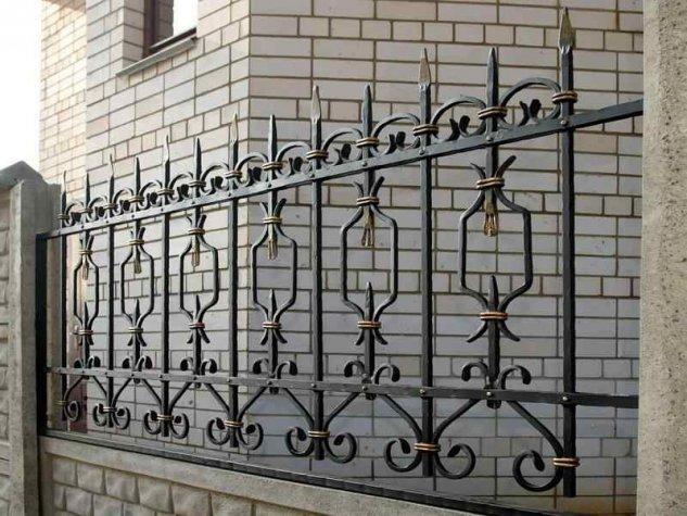 Кованые Заборы из металла